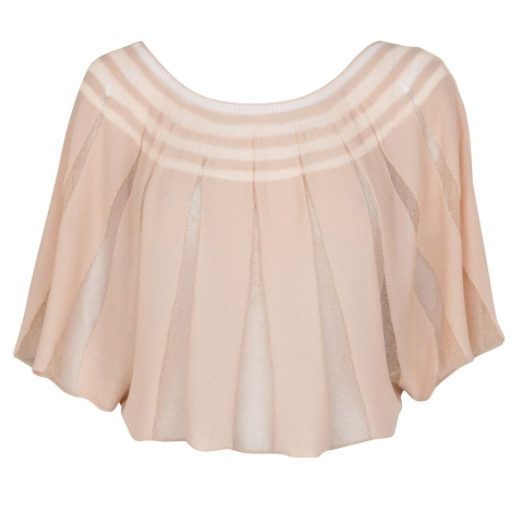 BUTTERFLY TOP – NUDE