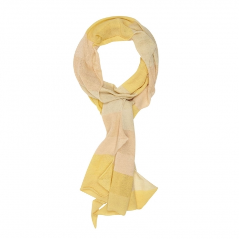 ZIGZAG SCARF – yellow