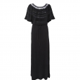 Laceline Dress black long