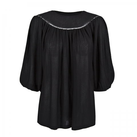 YOKE TOP – BLACK