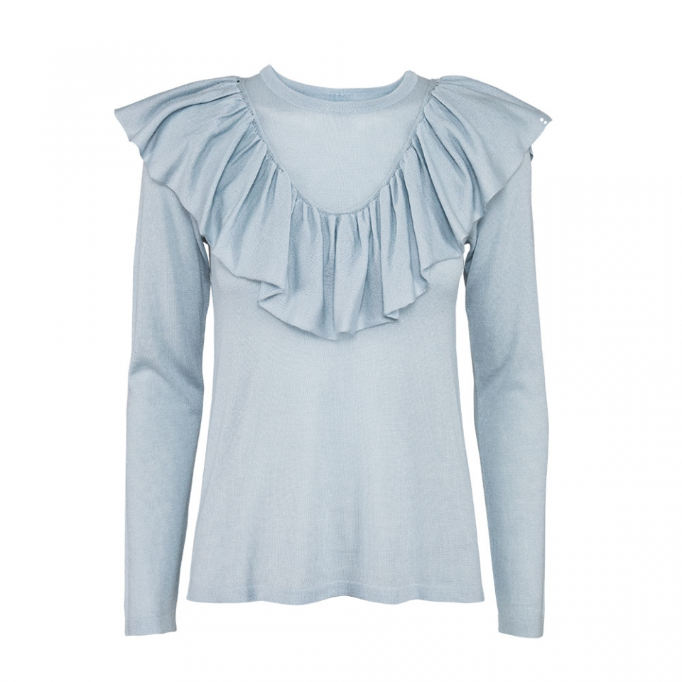 FRILL BLOUSE – ICE