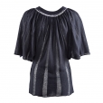 Butterfly Top navy back
