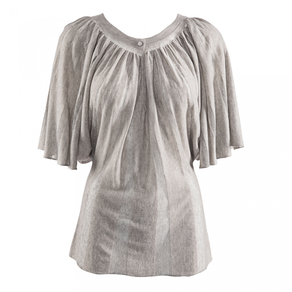 BUTTERFLY TOP – SILVER
