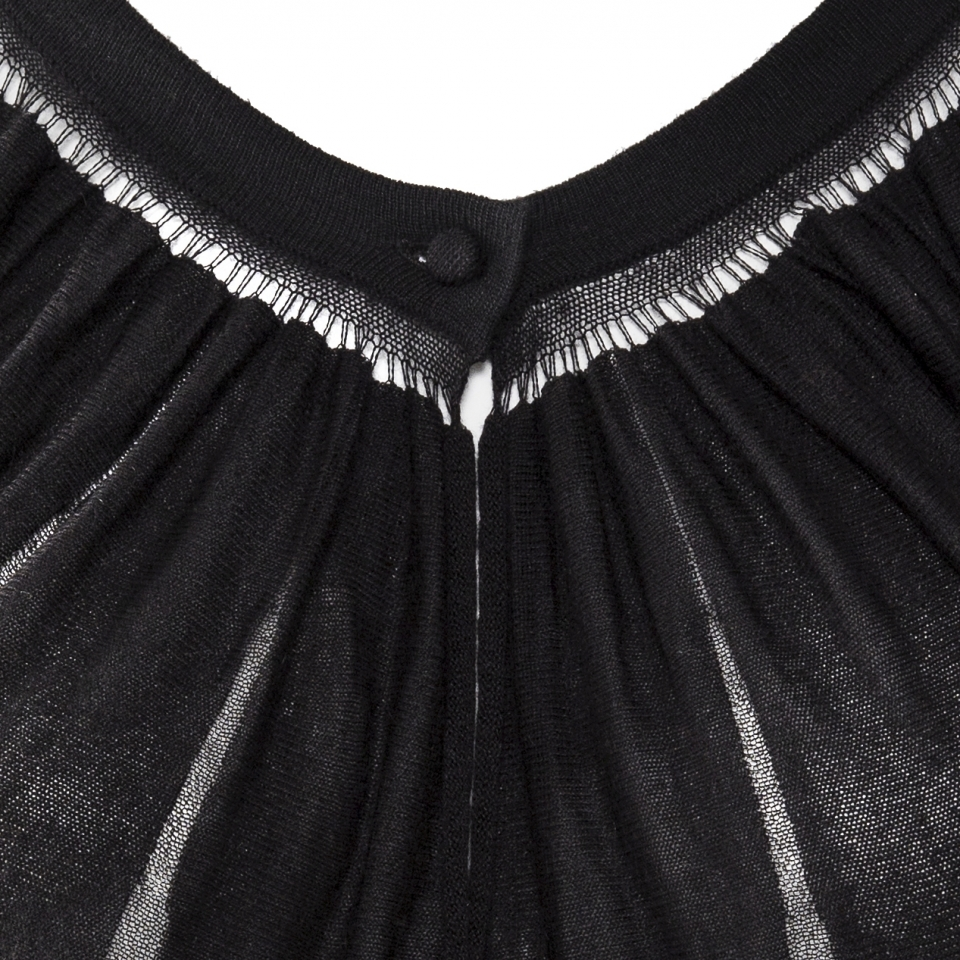butterfly top black detail
