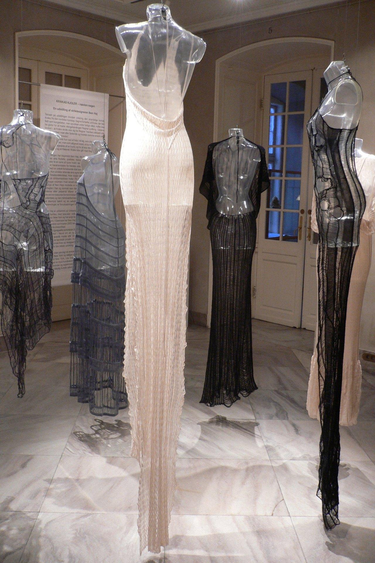Krakas Dresses Nearly Nude 2009 Designmuseum Danmark Copenhagen Denmark 82