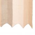 zigzag scarf nude block closeup
