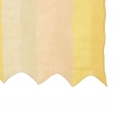 zigzag scarf yellow block closeup