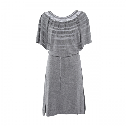 LACELINE DRESS – GREY