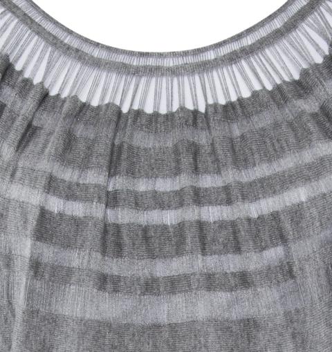 Laceline Dress grey DETAIL