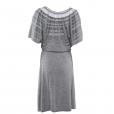 Laceline Dress grey back