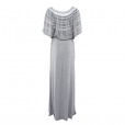 Laceline Dress grey back long