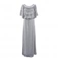 Laceline Dress grey long