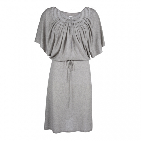 WING DRESS – LIGHT GREY