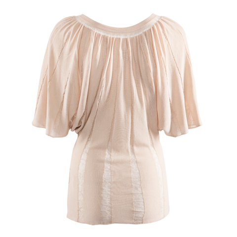 Butterfly Top nude back