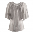 Butterfly Top silver back