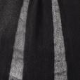 butterfly top black knit