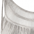 laceneck top silver detail